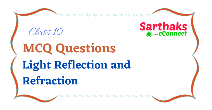 MCQ Questions of Light Reflection and Refraction