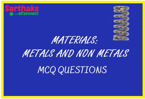 MCQ QUESTIONS Materials