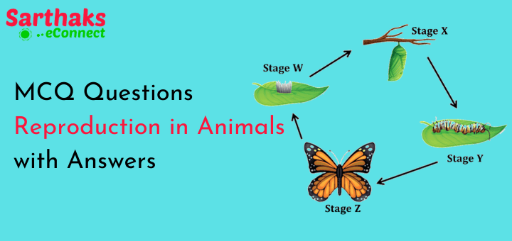 MCQ Questions Reproduction in Animals with Answers