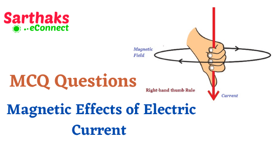 MCQ Questions Magnetic Effects of Electric Current