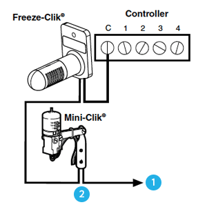 Hunter Freeze-Clik Wiring