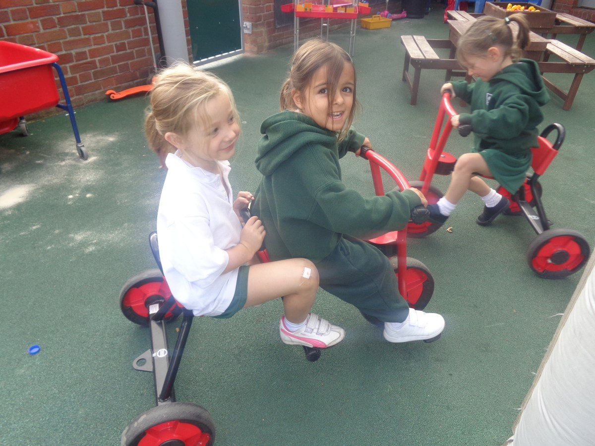 Welcome to Reception Girls