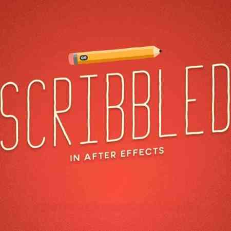 Scribbled In After Effects