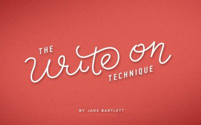 The Write On Technique: Hand Lettering In Motion