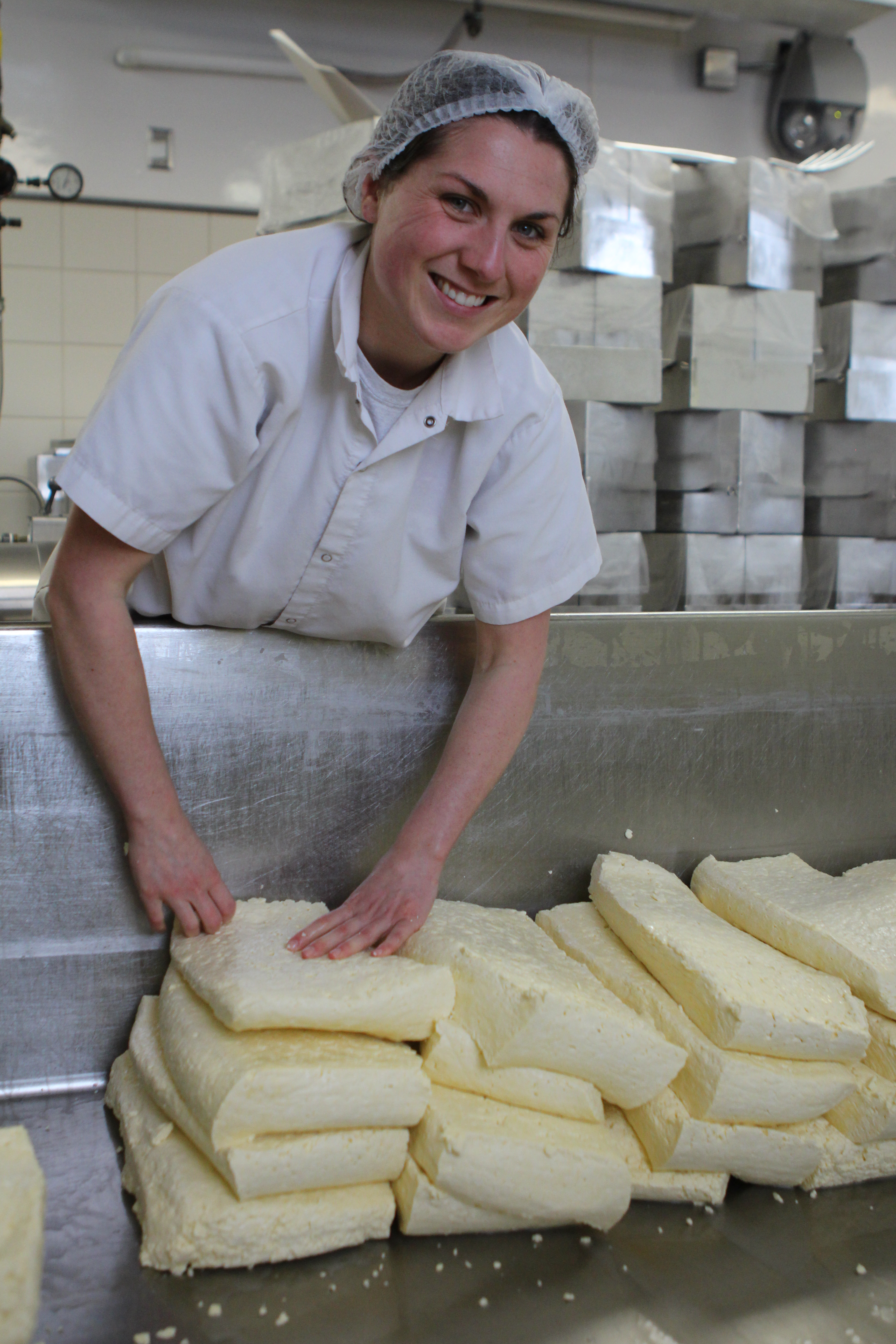 Meet Kate Turcotte Head Cheesemaker at Shelburne Farms