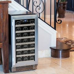 Kitchen Cabinet Makers Bars For Sale 6 Common Questions About Wine Refrigerators ...