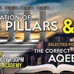 02 – SELECTED POINTS FROM THE CORRECT AQEEDAH – ABU ISMAEEL SAALIK | MANCHESTER