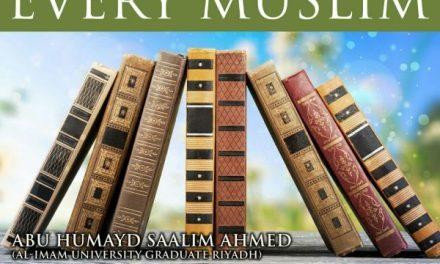18 – Tafsir – Surah Al Adiyat | Abu Humayd Saalim | Manchester