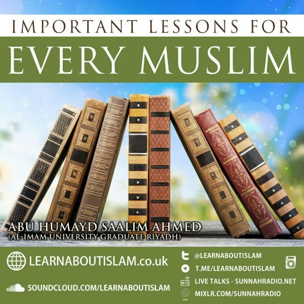 15 – Major Sins Part 3 – Abu Humayd Saalim | Manchester