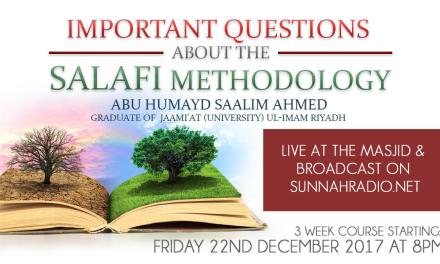 Important Questions About The Salafi Methodology | Abu Humayd Saalim | Manchester