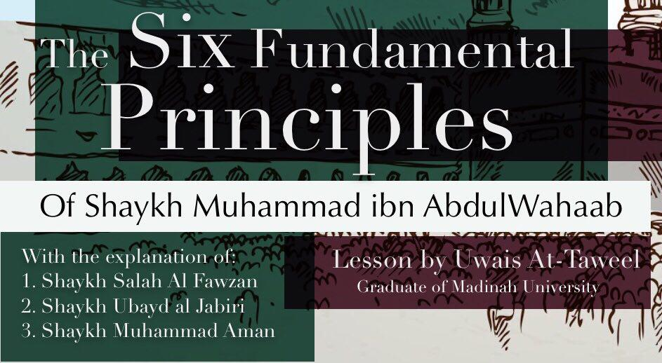 5 - Six Fundamental Principles - Uwais at-Taweel | Nigeria