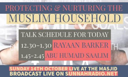 Protecting and Nurturing the Muslim Household – Abu Humayd Saalim