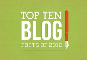 Top Ten Blog Posts of 2012 to Learn About Marketing
