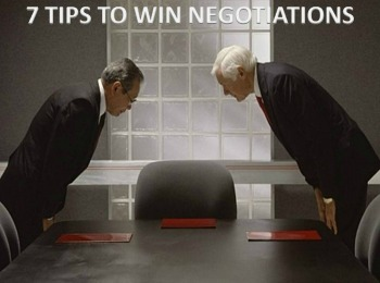 Master Negotiator | 7 Tips to Win Negotiations