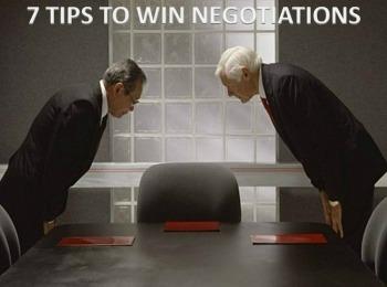Master Negotiator | 7 Tips to Win Negotiations