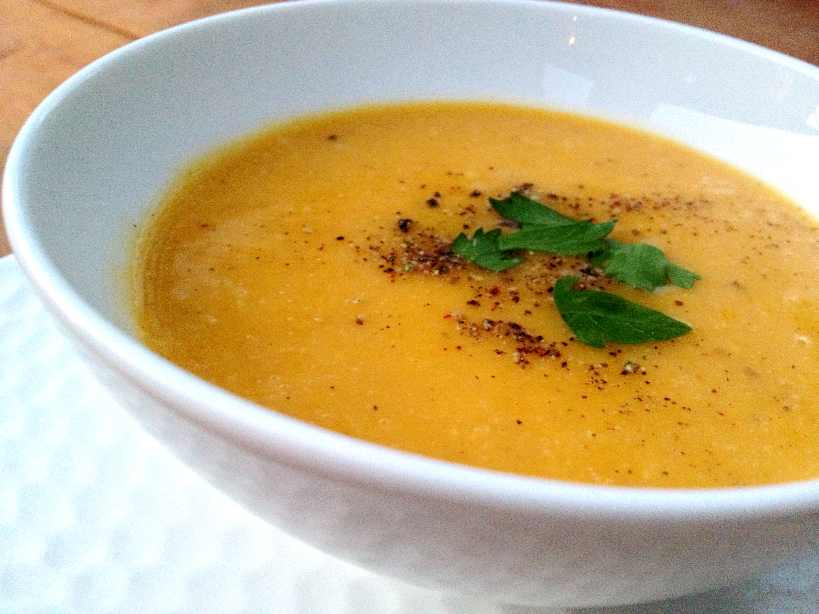 thai kitchen organic coconut milk utensil crock fort knox of the squash family {roasted butternut soup}