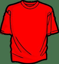 la T-shirt (o maglia)