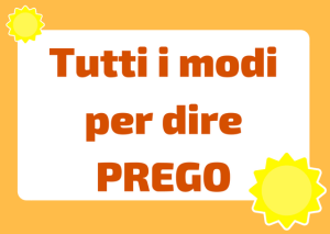 alternative a prego in italiano