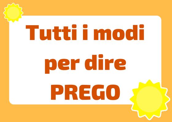 alternative a prego in italiano