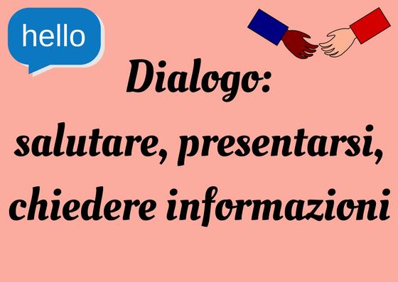 presentarsi in italiano
