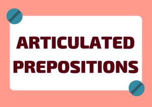 Italian articulated prepositions