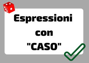 espressioni su caso italiano