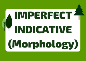 how to form Italian imperfect indicative
