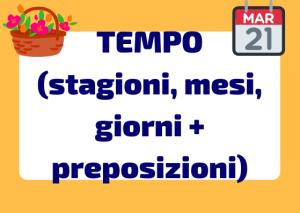 il tempo in italiano