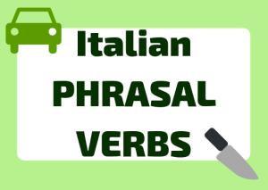 Italian phrasal verbs