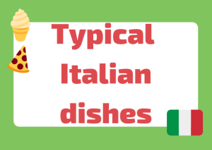 Italian cuisine dishes