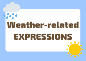 weather-related Italian expressions