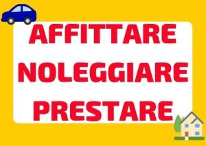 Noleggiare affittare prestare italiano
