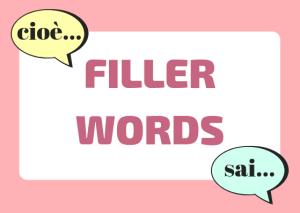 Italian filler words