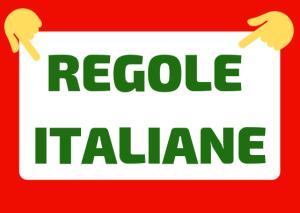 regole italiane da rispettare