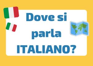 dove si parla italiano nel mondo