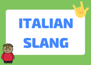Italian slang words