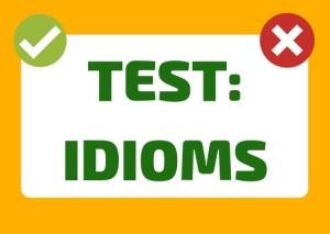Italian Test on Idioms