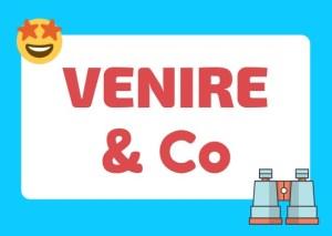 Italian verb venire and similars