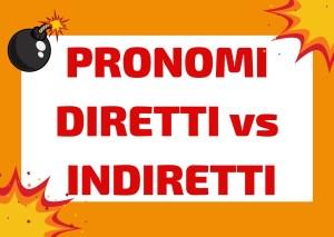 pronomi diretti e indiretti italiano