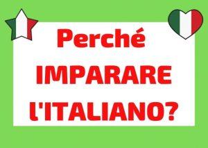 motivi per studiare italiano