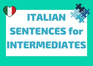 intermediate Italian phrases