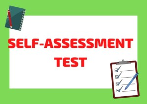 self-assessment Italian test