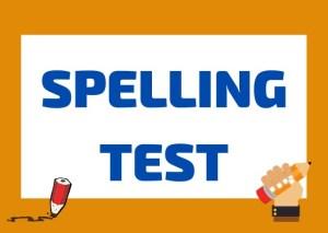 Italian spelling test