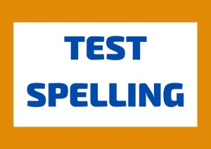 Test spelling italiano