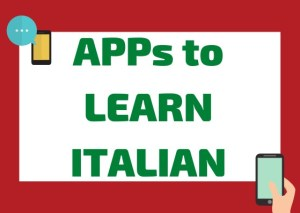 Apps to learn italian