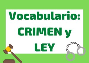 vocabulario crimen ley italiano