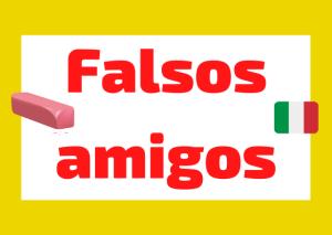 falsos amigos italianos