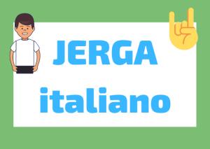 Jerga italiano