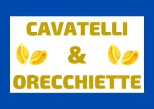 Pasta italiana cavatelli e orecchiette