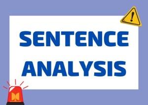 Italian sentence analysis